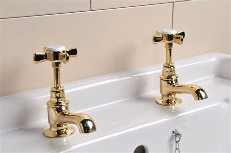bathroom basin taps uk polished brass basin taps restored