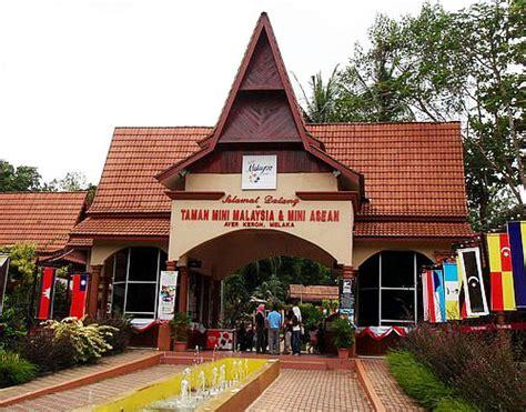 Mini 3 Di Malaysia taman mini malaysia asean easybook