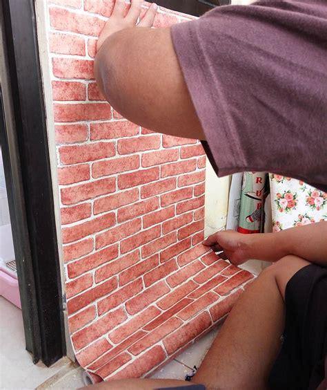 wallpaper dinding model batu bata ide dan cara membuat hiasan dinding kamar buatan sendiri