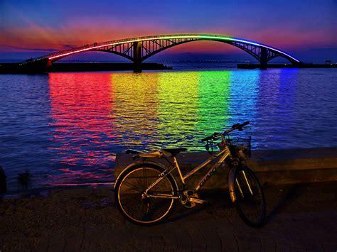 rainbow bridge xiying rainbow bridge of taiwan