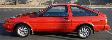 Toyota Corolla Gts For Sale For The Purist Drifter 1986 Toyota Corolla Sport Gt S For