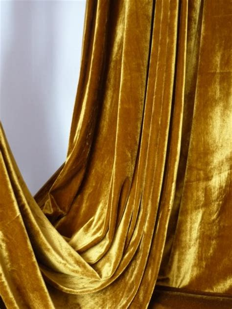mustard velvet curtains mustard velvet velour stretch spandex lycra fabric q1174 mst