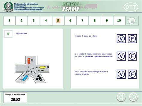 ministero degli interni patente b patente di guida esame di teoria pi 224 difficile da ottobre