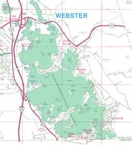 map of webster map