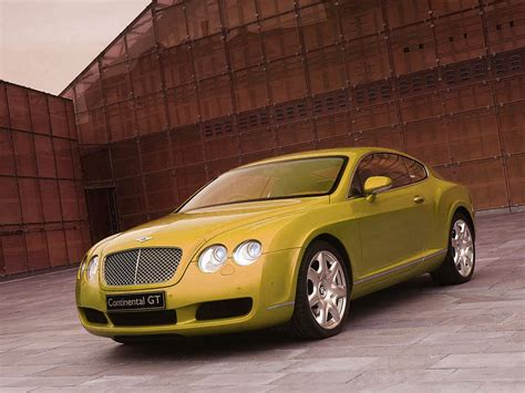 Yellow Bentley Car Pictures Images 226 Super Yellow