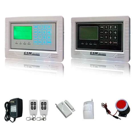 gsm alarm system intellegent home security products