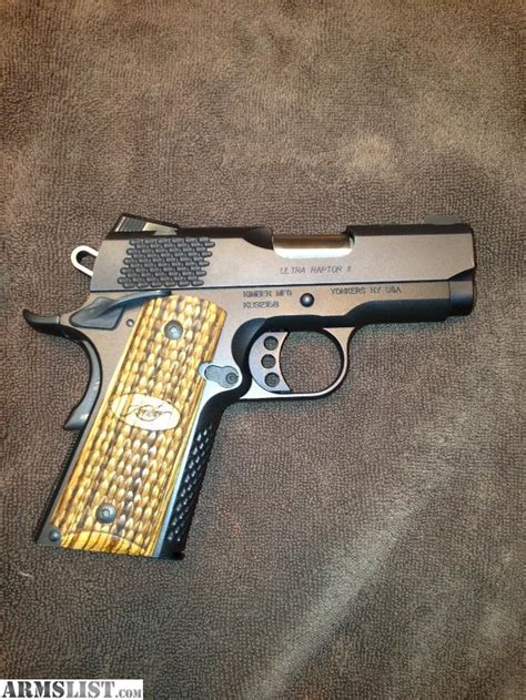 Raptor Background Check Armslist For Sale Kimber Custom Shop Ultra Raptor Ii 45acp 1911