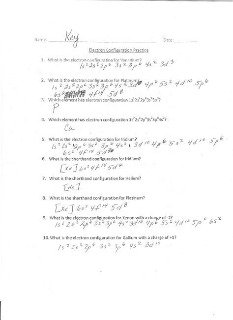 electron configuration worksheet answers 28 electron configuration worksheet answer key periodic table scavenger hunt answer key