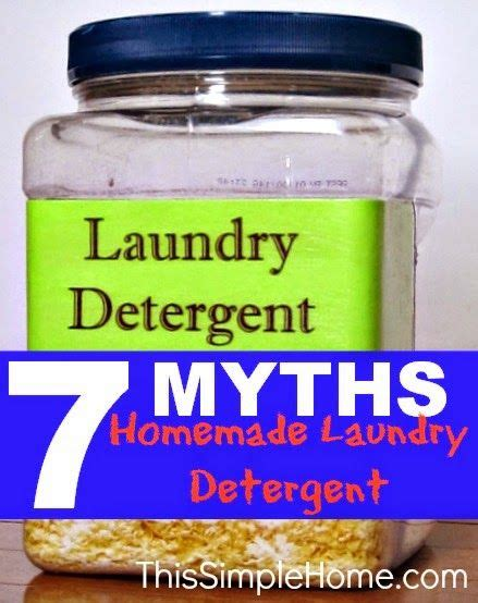 7 Misconceptions About Your Laundry by Laundry Detergent Myths Cleaning Laundry
