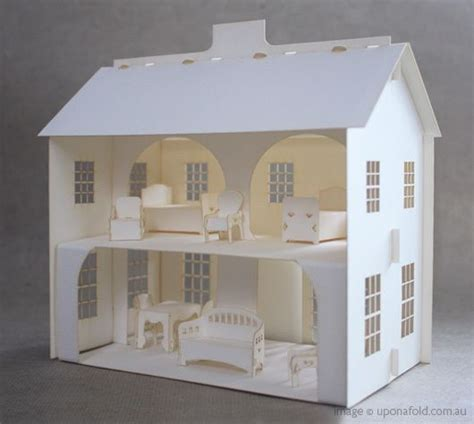 How To Make Paper Dollhouse Furniture - best 25 paper doll house ideas on cut paper