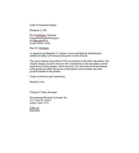 Engineering Transmittal Letter Template letter of transmittal 40 great exles templates template lab
