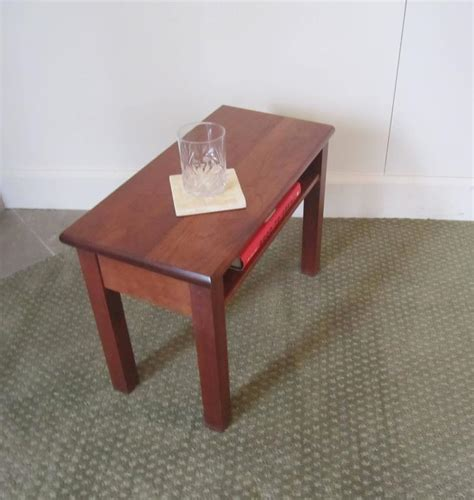 Small Side Table With Shelf by Small End Or Side Table With Shelf For Sale At 1stdibs