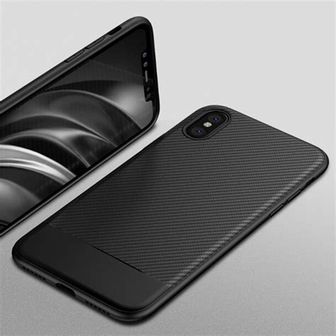 Softcase Ipaky Carbon Fiber Galeno Iphone 6 Plus 55 Inc Kren carbon fiber shockproof tpu soft cover for apple iphone x 8 7 6s 6 plus ebay