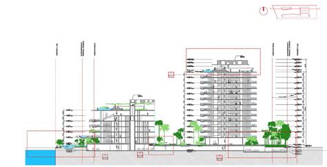 check section check out the plans for starchitect jean nouvel s monad