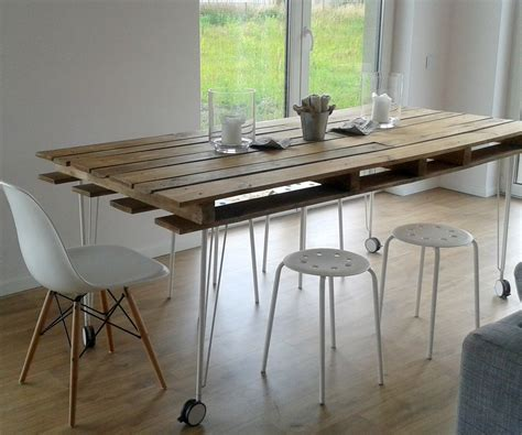 dining table diy diy pallet dining table