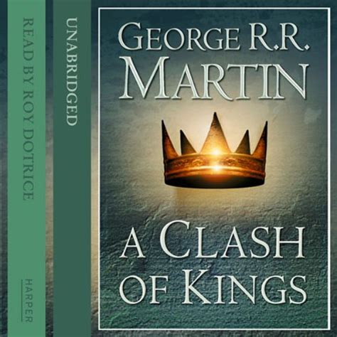 a clash of kings english wooks a song of ice and fire a clash of kings audiobook review