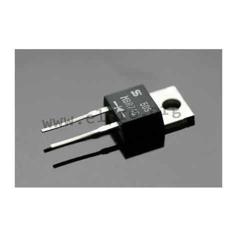 mbr 1645 to housing schottky diodes elpro elektronik