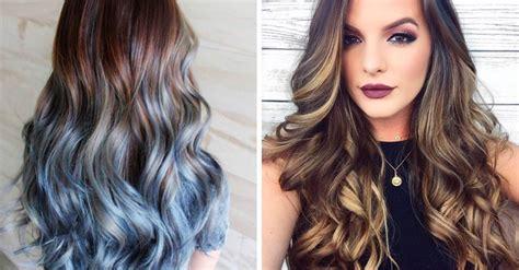 modelos de colores para cabello foilyage la nueva tendencia para cabello en oto 241 o invierno