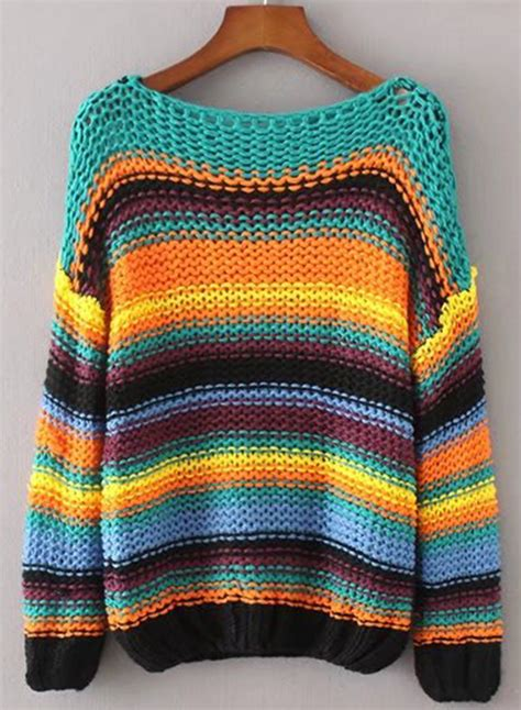 color block chunky sweater s sleeve color block chunky knit sweater