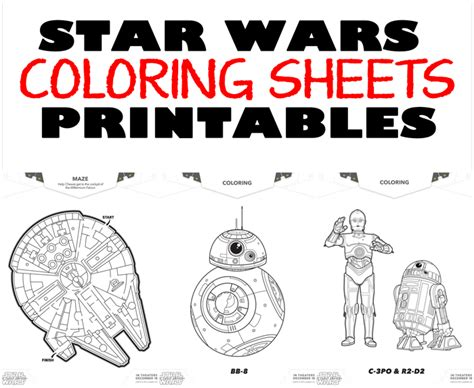 printable pictures star wars star wars print outs bing images