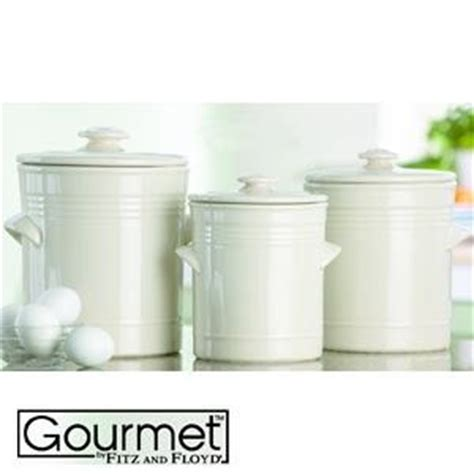 white kitchen canister sets fitz floyd s