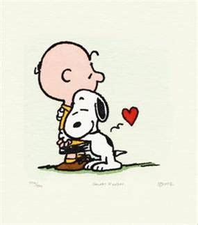 a brown peanuts follow the piper a named snoopy