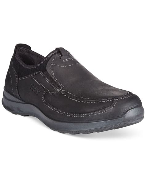 loafers casual ecco casual loafers in black for