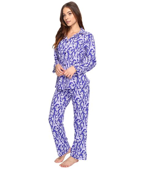 bed head pajamas bedhead long sleeve classic pajama set at zappos com