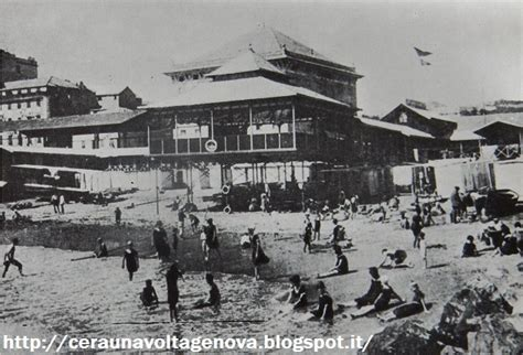 bagni italia genova c era una volta genova sierdarena ed il mare le spiagge