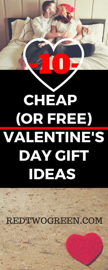 cheap valentines day ideas for cheap or free valentines day gift ideas for him or for