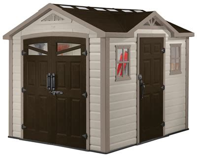 Keter Infinity Shed by Keter Storage Sheds Plastic Shed Kits Buildings