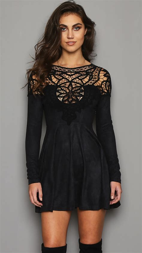 dreamcatcher dress dreamcatcher suedette dress