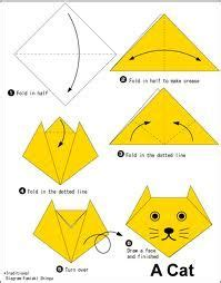 Folding Paper Animals Templates - 47 best images about origami voor lotje on