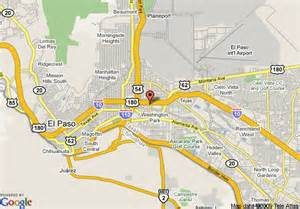 el paso map el paso tx profile population maps real estate