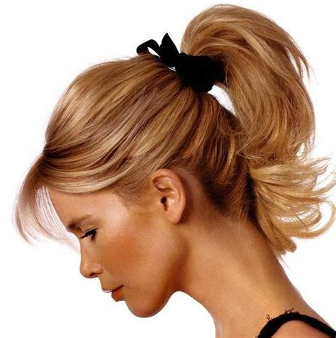 15 elegant ponytail short summer hairstyles for girls