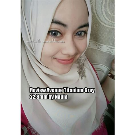 Soflens Avenue Honey Grey jual softlens avenue softlens warna abu abu terang diameter besar