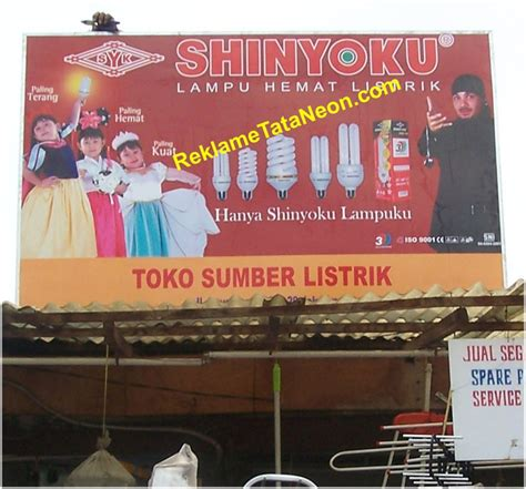 reklame toko led by top quality ini contoh papan nama toko billboard papan nama huruf