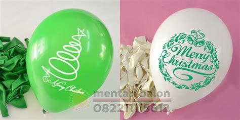 Balon Sablon Sesuai Keinginan Ulang Tahun Anak balon custom natal balon natal tahun baru