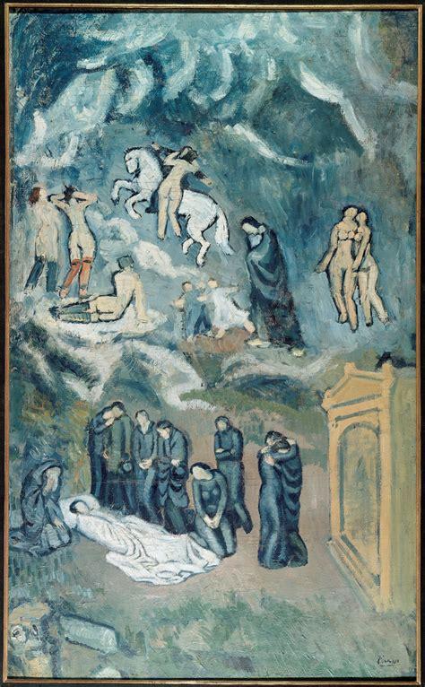 Picasso L by Pablo Picasso L Evocazione 1901 Mus 233 E D Moderne