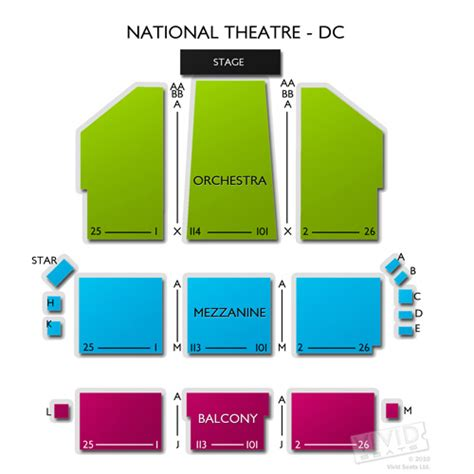 national theatre seating map national theatre tickets national theatre information