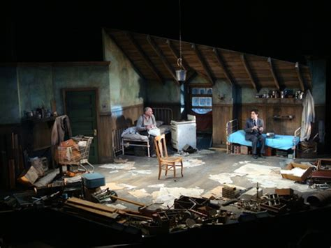 Pinter The Room by Pinter S The Caretaker Set Designer Jonathan Wentz Has Created An Attic Room Of Junk But