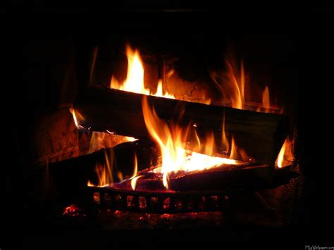 Fireplaces Fires by Mlewallpapers Fireplace