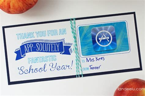 How To Put Gift Card On App Store - teacher appreciation gift ideas app solutely fantastic