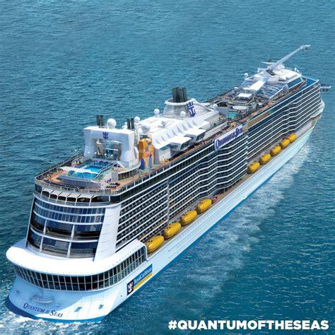 royal caribbeans newest ship royal caribbean quantum of the seas view the cruisington