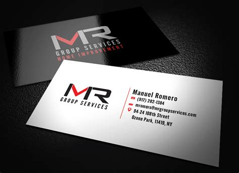 Construction Company Business Cards