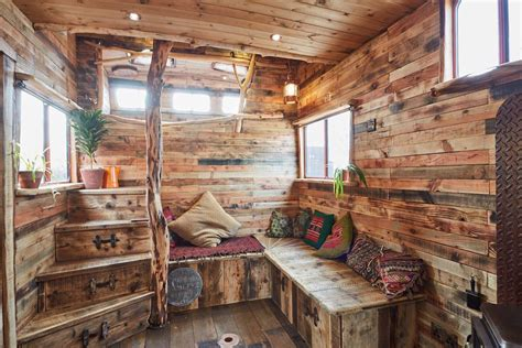 Small Cabin Building Plans by Rustic House Truck Converted From Horsebox Curbed
