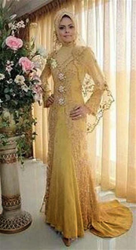 model baju renda kebaya pengantin trend 2014 kebaya muslim pengantin