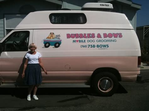 mobile grooming near me bubbles bows mobile grooming oceanside oceanside ca united states yelp