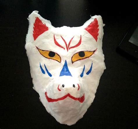 Kitsune Mask Papercraft - kitsune mask babymetal style by kiffy25081987 on