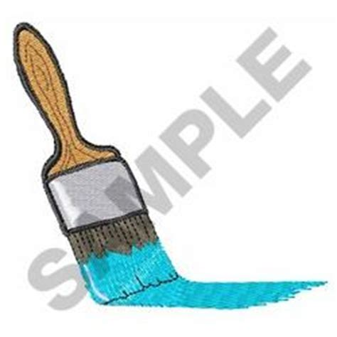 brush embroidery pattern paint brush embroidery designs machine embroidery designs